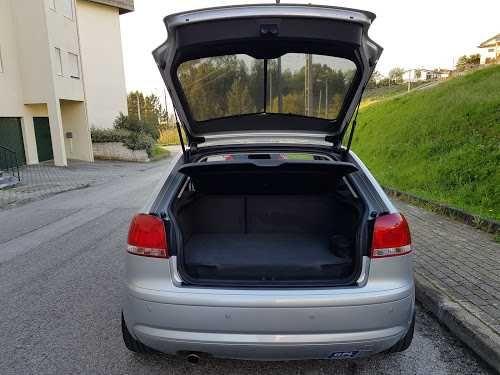 Jogo de cortinas Amovíveis para Audi A3 8P 3 Portas