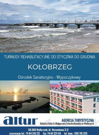 Kołobrzeg 2020 turnusy rehabilitacyjne - ośrodek tylko 200 m od plaży