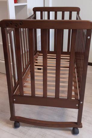 За все: Кроватка Верес + матрас, балдахин, защита, постель, держатель.