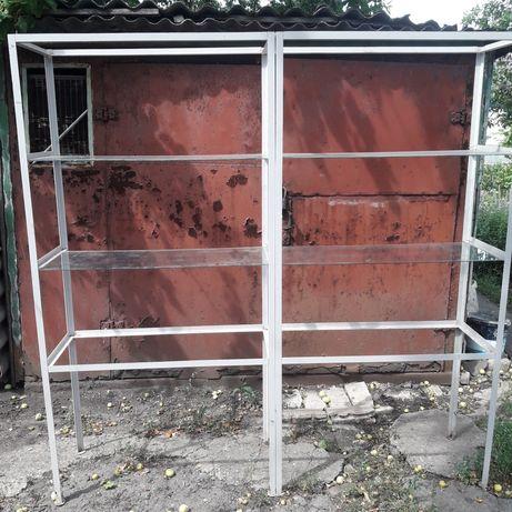 Продам витрини сделание с уголка 25 мм