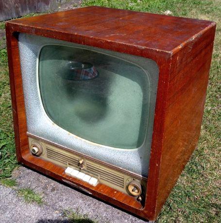 Stary telewizor Rubin 102 - lata 50te