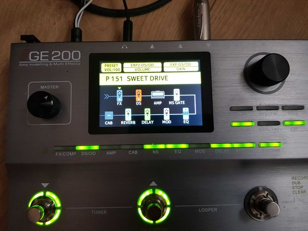 Mooer  GE200 nie Boss Hellix super stan efekt gitarowy