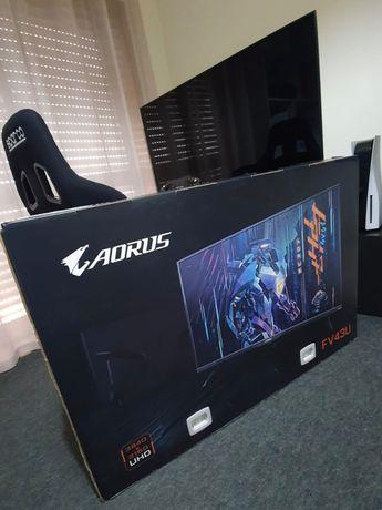 Aorus FV43U (perfeito para playstation 5 e xbox series X)