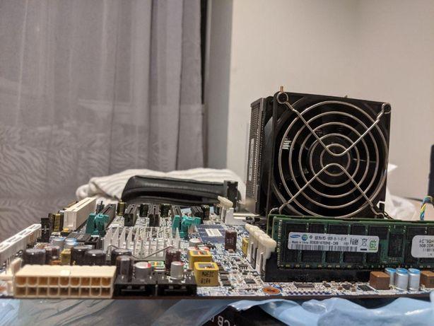 Intel Xeon E5- 2670 (8 ядер / 16 потоков по 2,6-3,3 ГГц) +16 гб +HP430