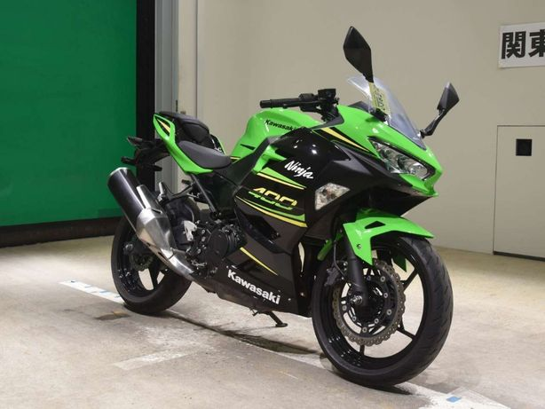 Мотоцикл Kawasaki Ninja 400 ABS 2020г в пути из Японии+КРЕДИТ+документ
