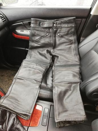Продам кожаные байкерские штаны!