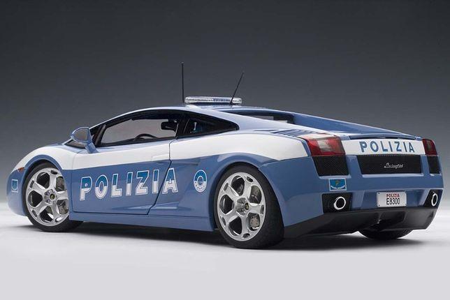 Lamborghini Gallardo Polizia - 1:18 - Autoart