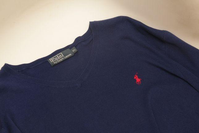 Polo Ralph Lauren XL свитер из длинноволоконного хлопка PIMA