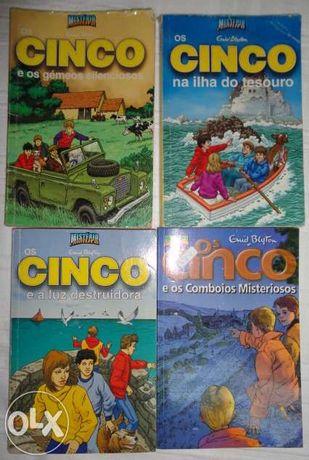 Livros: Os Cinco de Enid Blyton