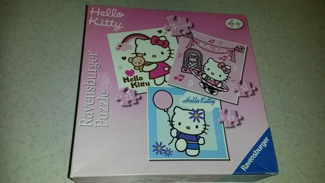 puzzle Hello Kitty 3 obrazki