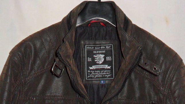 куртка деми бренд  кожа лазерка Vogele Uk S (46)