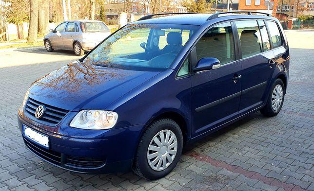 Volkswagen Touran 1.9 TDI, 7-osobowy , 6 biegów