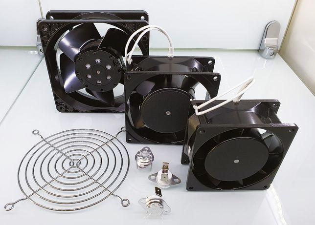 Ventiladores Metal - Recuperador de Calor 80x80, 92x92, 120x120 mm