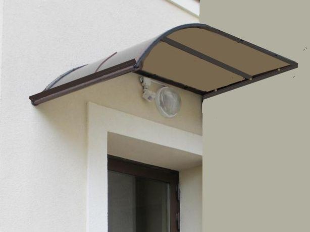 zadaszenie nad drzwi łuk jednostronny - daszek