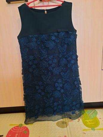 Продам плаття темно зеленого кольору розмір 44-46