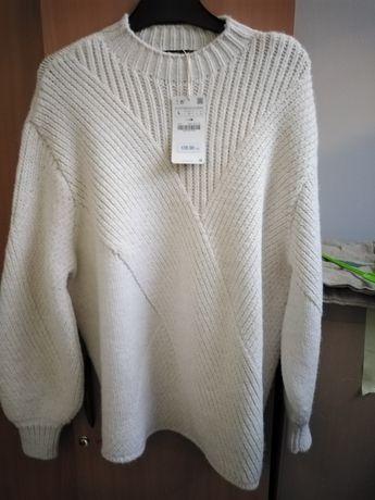 sweter zara r l nowy