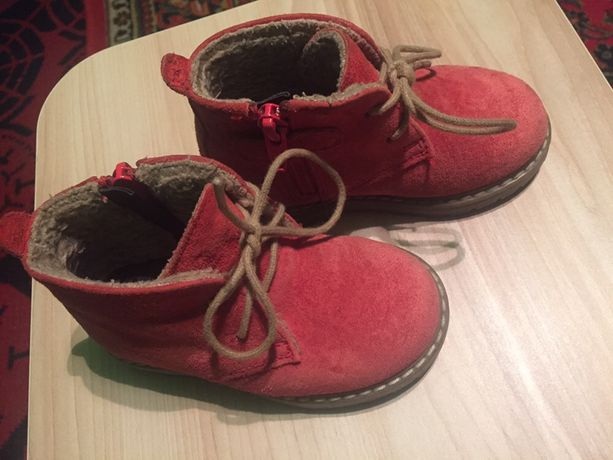 Продам детские демисезонные ботинки next 13,5 см
