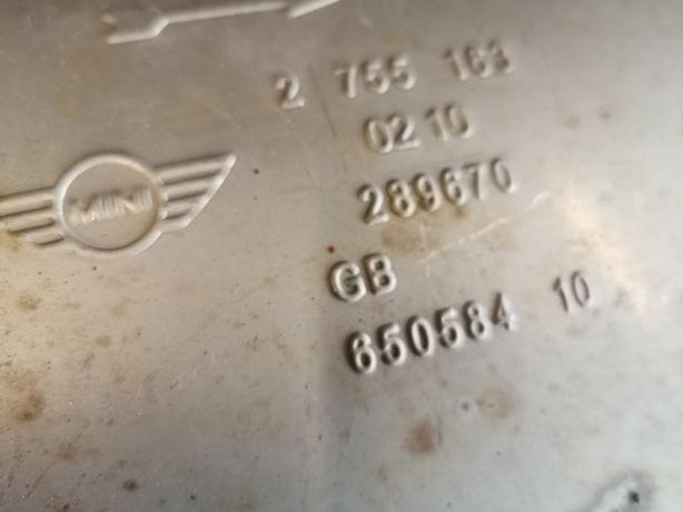 Uklad wydechowy, tłumnik mini r56