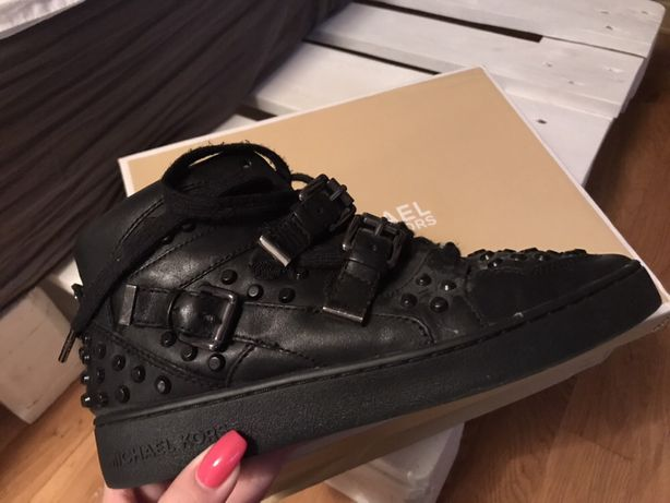 Czarne buty Michael Kors