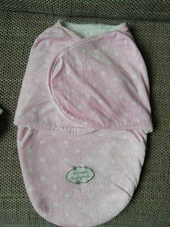 Otulacz, śpiworek dla niemowląt blanket & beyond 0-3m