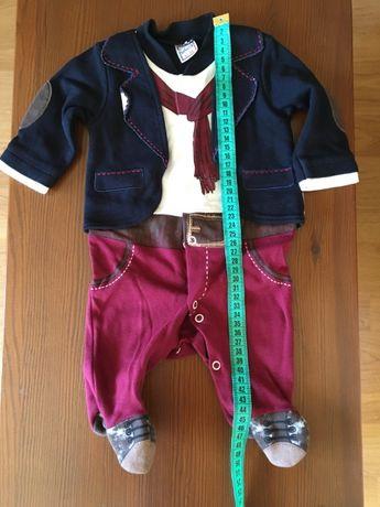 костюм праздничный 0-3 месяца