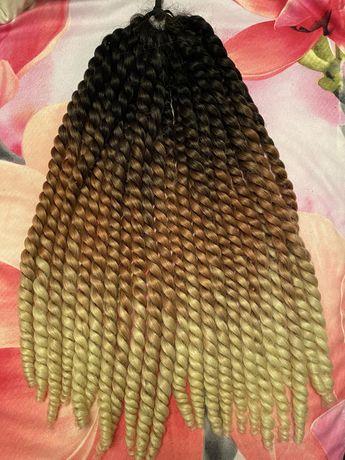 Афро кудри хвост прическа