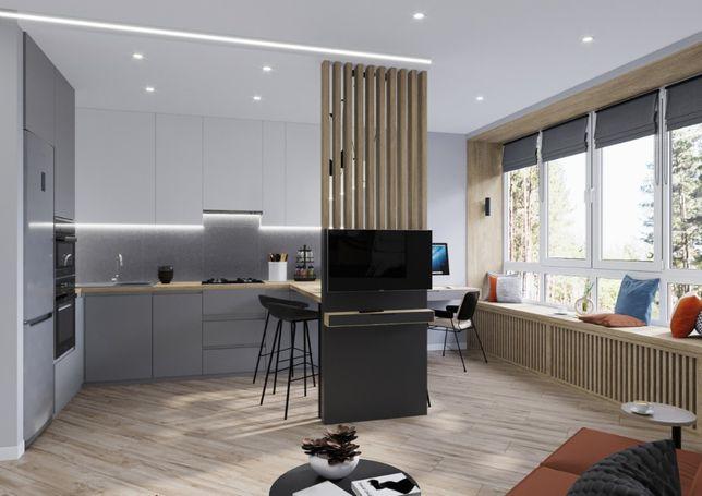 Smart-квартира с ремонтом, мебелью и техникой! 38 м2, р-н школы №3