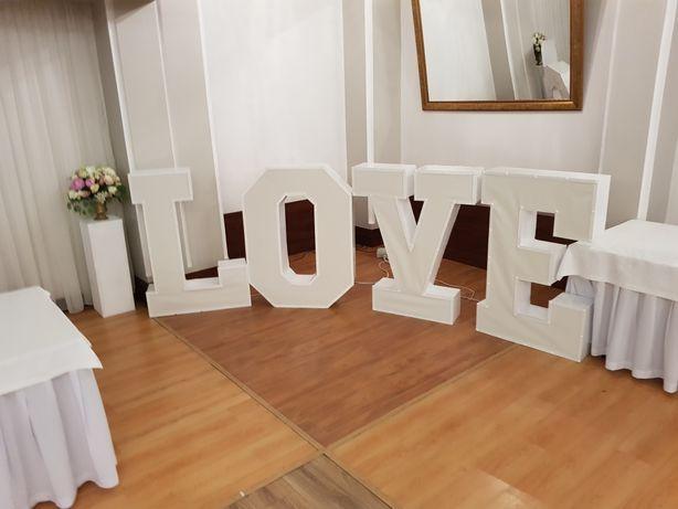 Napis Love 120 cm wysokości