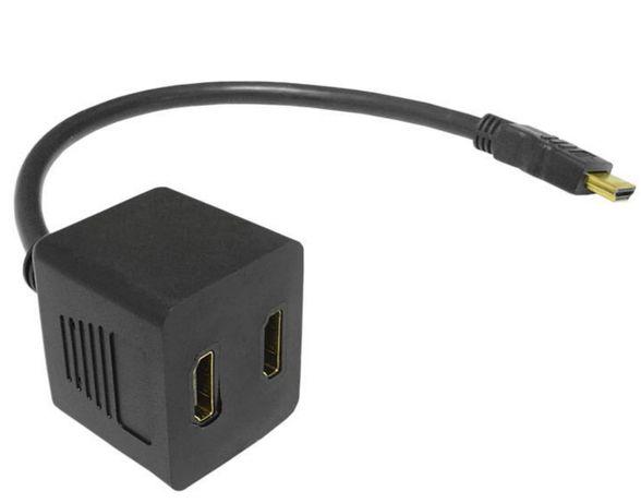 Rozgałęźnik hdmi na kablu 30 cm