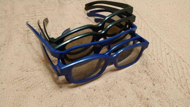 Окуляри 3 D пластік
