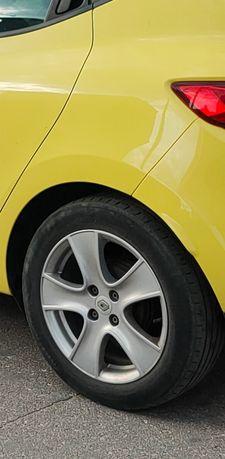 "Felgi Koła aluminiowe Renault Clio lV 4x100  16"" ET 44 z Oponami"