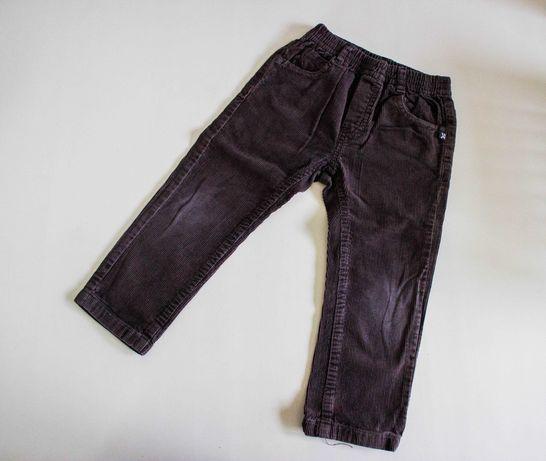 Дитячі коричневі вельветові штани Idexe