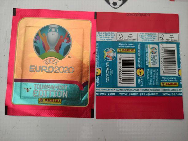 Saqueta euro 2020 tournament edition saqueta edição LIDL panini