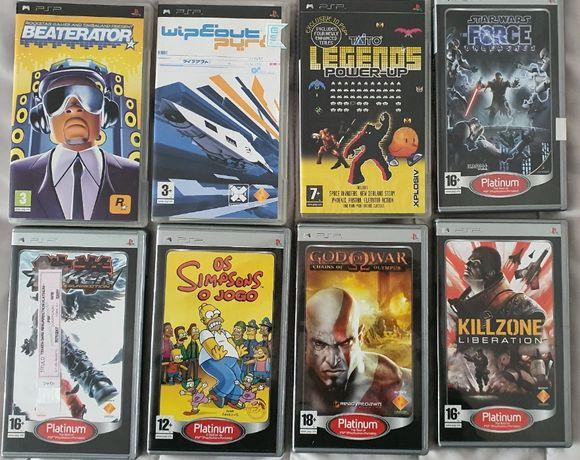 Jogos PSP - Desde 5€ - Como novos!