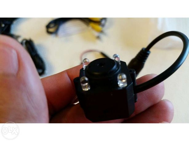 Camera minuscula mini wireless sem fios pinhole camara discreta oculta para ligar a TV gravador DVR