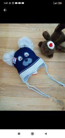 Зимняя шапка 1-3 года