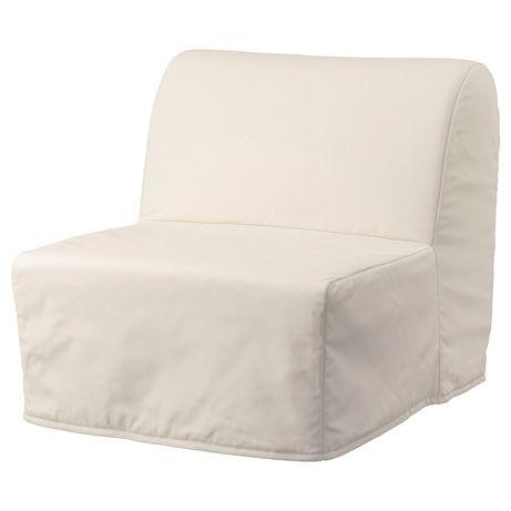 Poltrona sofá-cama com capa lavável