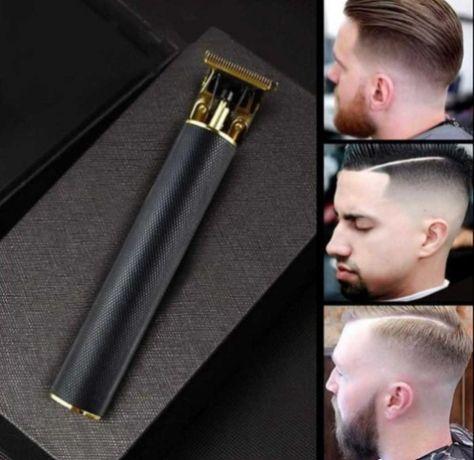 Профессиональный триммер pro mozer машинка для стрижки бороды волос
