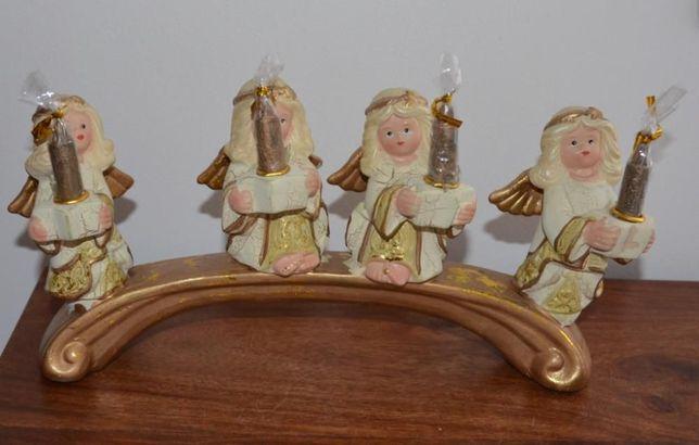 Castiçal 4 Anjos, 4 Velas – NOVO!