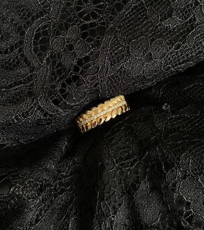 Pandora Shine Kłosy grains obrączka pierścionek pokryty 14k złotem 56