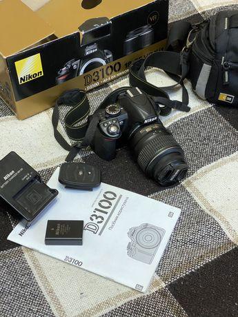 Nikon d3100 + SD card + Сумка