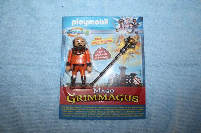 Figura Playmobil Rara Mago Grimmagus
