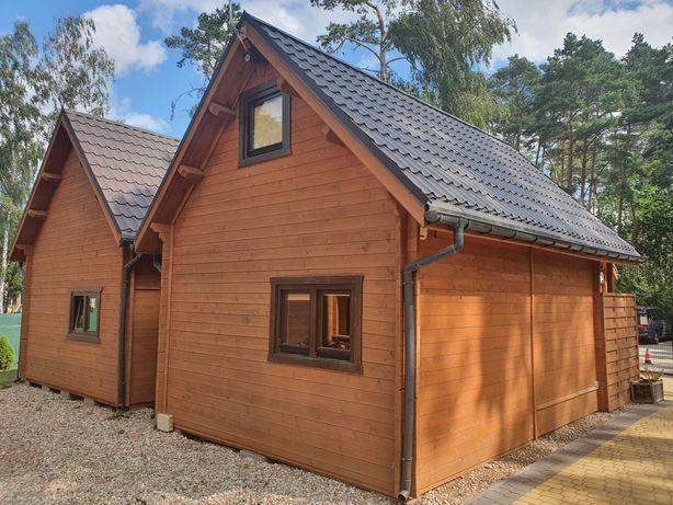 Dom domek domki letniskowy drewniany z bala do przeniesienia