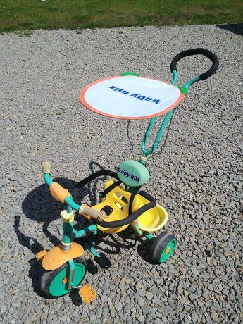 Rowerek trzykołowy dla dzieci, dziecięcy, trike, do pchania