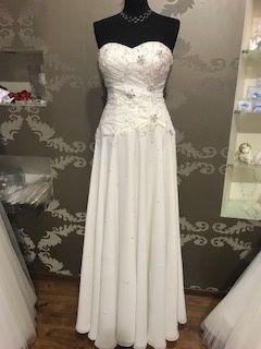 Suknia ślubna Verise Tori 42 ekri boho księżniczka ślub cywilny wesele