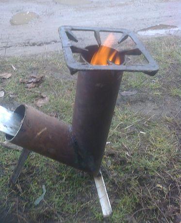 Печь реактивная ( пічка реактивна)