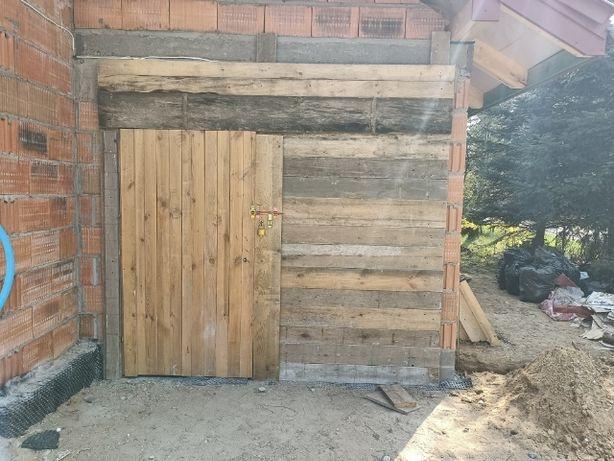 Drzwi tymczasowe,brama tymaczasowa