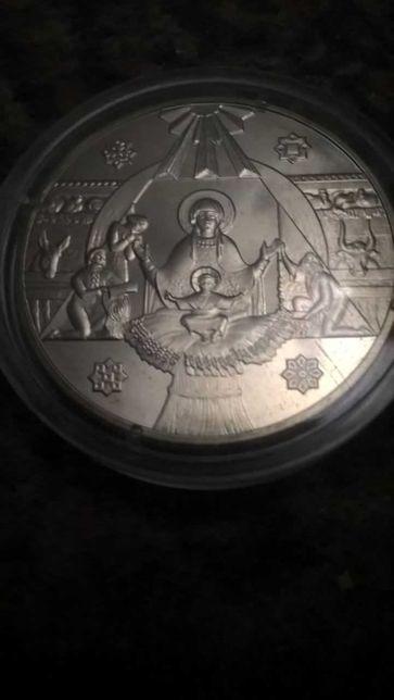 монета 5 грн. Різдво Христове в капсулі