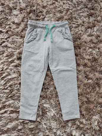 Spodnie dziewczęce dresowe 5 10 15