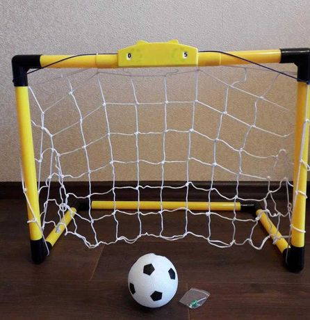 Футбольные ворота с мячом, игры для улицы, летние игрушки